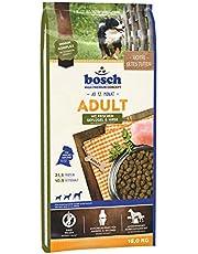 bosch HPC Adult mit frischem Geflügel & Hirse   Hundetrockenfutter für ausgewachsene Hunde aller Rassen
