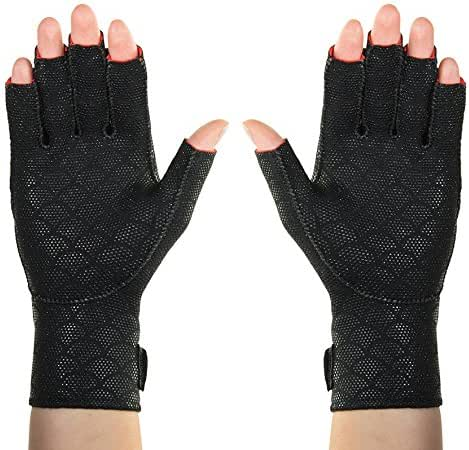Thermoskin Premium Arthritic Gloves, Black, X-Large