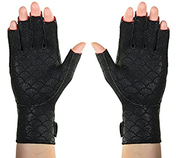 Thermoskin Premium Arthritic Gloves, Black, Small