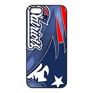 RELAY New England Patriots Fashion Comstom Plastic case cover For Iphone 5s
