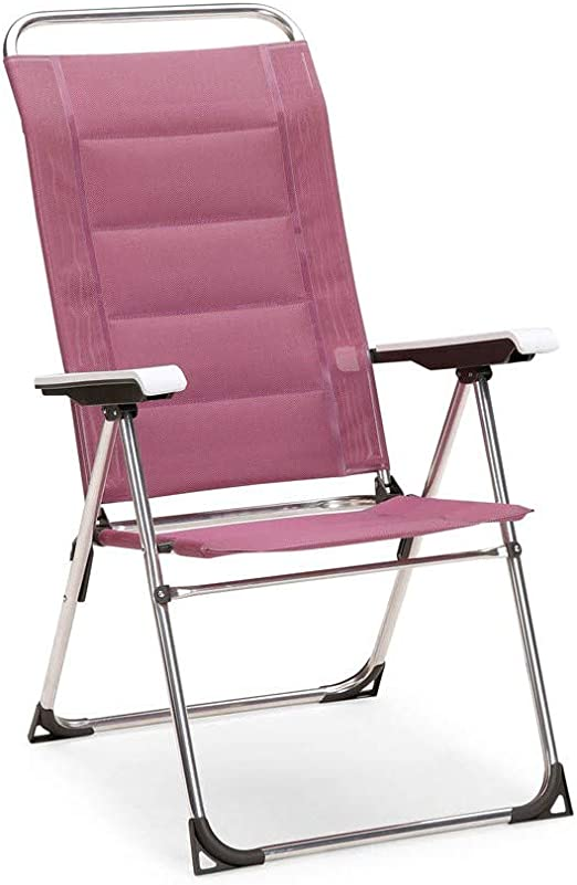 Best Klappsessel Young Collection Sillón Plegable, Silla de Camping y jardín, Aluminio, Morado: Amazon.es: Jardín