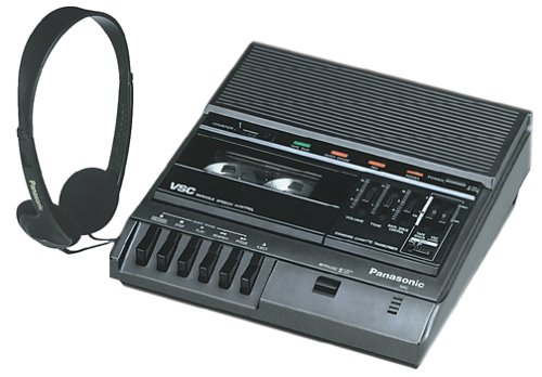 Panasonic RR-830 Desktop Cassette Transcriber / Recorder by Panasonic