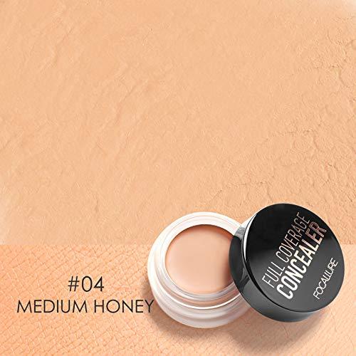 7 Colors Full Cover Concealer Cream Makeup Primer Cover Foundation Base Lasting Oil Control Cream Concealer 4
