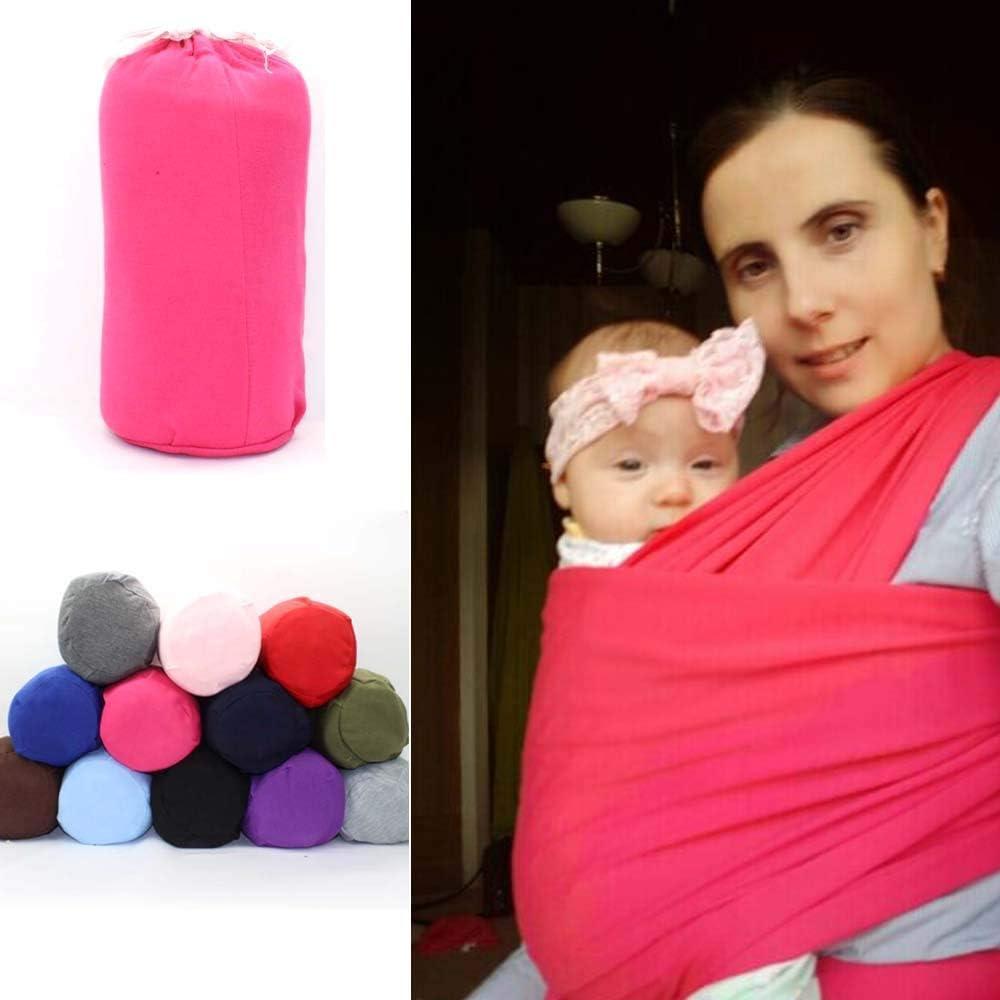 Portabebes Sunzit Fular Portabeb/é Unisex Porta beb/é Multifuncional para Beb/é y Reci/én nacido Azul