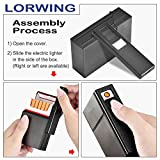 LORWING Cigarette Case Module with Electric Lighter