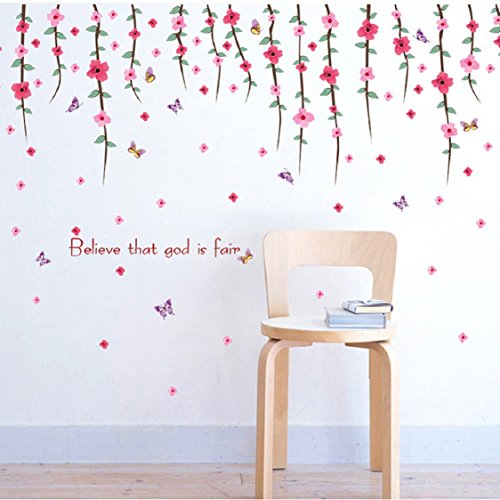 hot-selling-wall-stickerikevan-romantic-art-wall-decal-flower-rattan-paster-pvc-removable-family-bac