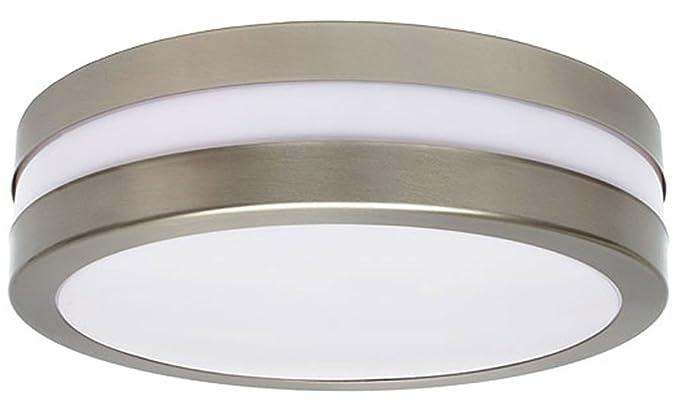 Lampade A Sospensione Allaperto : Lampada da soffitto all aperto tondo argento weio giardino garage