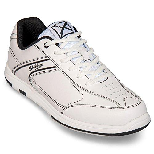 4 ohne Déodorant et de KR Chaussures Titania nbsp;avec Weiß Strikeforce Bowling EMAX droitiers 38 Taille Chaussures 48 et nbsp;Couleurs Spray Care en Mesdames Flyer 5 Pour gauchers Foot Messieurs WpB6nnwq