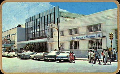 - Bank Palace And Cinema Reynosa, Mexico Original Vintage Postcard