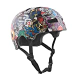 TSG - Evolution Graphic Design (collage, L/XL 57-59 cm) Helmet for Bicycle Skateboard