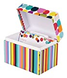 C.R. Gibson Recipe File Box with Cards, 4 by 6-Inch, Good Eats