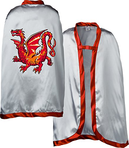 (Liontouch 29.303 Amber Dragon Pretend Play Cape, One Size, Red )