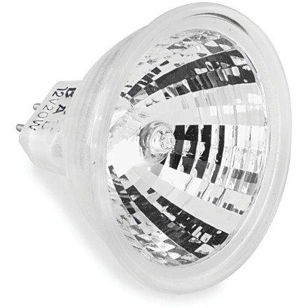 Kuryakyn Halogen Bulb (Silver Bullet / MR11/20W) (Bullets Silver Halogen Small)