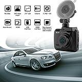 "2.4"" Car Dash Cam, 4K Dash Camera, 150 Degree Wide View Angle Car Camera with GPS, WiFi, G-Sensor, Loop Recording, Parking Monitoring, Motion Detection etc"