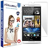 bagtag Cellbell Tempered Glass Screen Protector for HTC Desire 816 (2.5D Curved Edges)(Clear) Complimentary Prep cloth-Bronze Edition