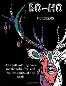 Unique Bohemian Coloring Pages For Adults