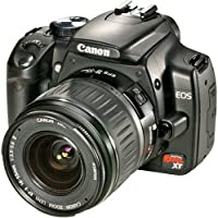 Canon Digital Rebel XT DSLR Camera with EF-S 18-55mm...