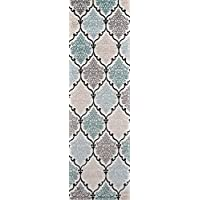 Momeni Rugs BROOKBH-02MTI2376 Brooklyn Heights Collection Area Rug, 2'3' x 7'6' Runner, Multicolor