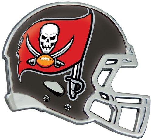 Hall Of Fame Emblem - Tampa Bay Buccaneers Auto Emblem - Helmet