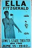 Ella Fitzgerald in New York Poster