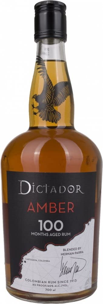 Dictador Dictador Amber 100 Months Aged Spirit Drink 40% Vol. 0,7L - 700 ml