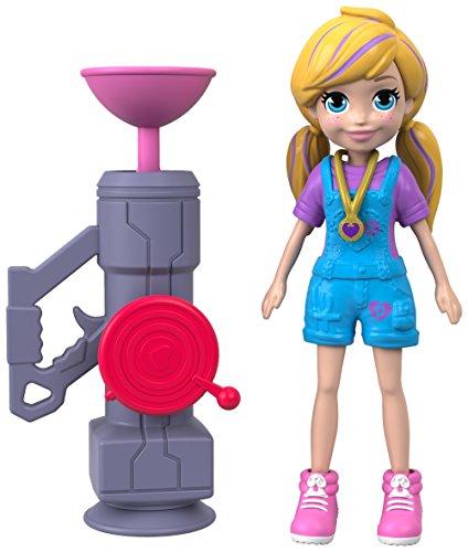 - Polly Pocket Active Pose Doll, Zipline Polly