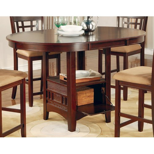 Coaster Counter Height Dining Cherry