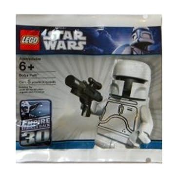 LEGO Star Wars: Color Blanco Boba Fett Minifigura (30th ...