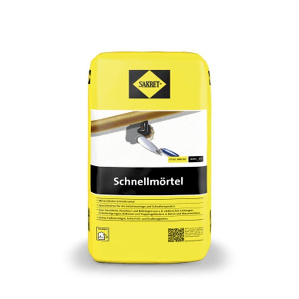 Sakret Schnellm/örtel Grau 10 kgArt.Nr 3249471