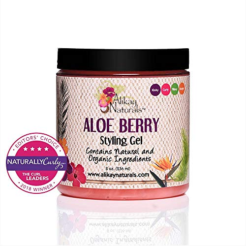 Natural Berry - Alikay Naturals Aloe Berry Style Gel, 8 Ounce