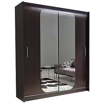 Kleiderschrank spiegel modern  Amazon.de: Ye Perfect Choice NEU Modern-Ava 11, Tür Spiegel ...