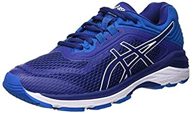 Asics Gt-2000 6, Zapatillas de Entrenamiento para Hombre, Azul Print/Race Blue 400, 39 EU
