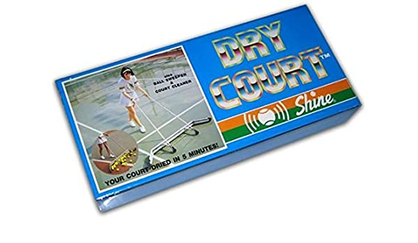 Amazon Com Shine Dry Court System With Squeegee Sports Outdoors