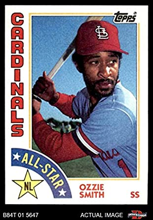 943f78fc6 1984 Topps # 389 All-Star Ozzie Smith St. Louis Cardinals (Baseball Card