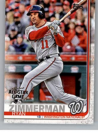 Amazoncom 2019 Topps All Star Edition Baseball 133 Ryan Zimmerman