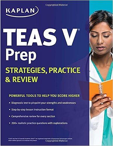 Kaplan teas v prep strategies practice review 9781625237149 kaplan teas v prep strategies practice review 1st edition fandeluxe Gallery