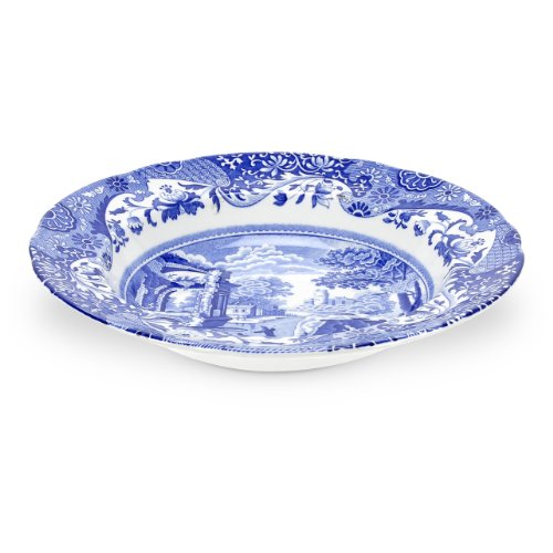 Spode Blue Italian Soup Bowl, Set of 4