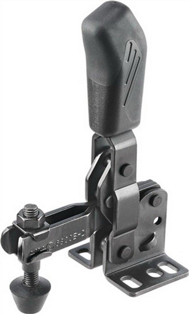Senkrechtspanner Nr.6800B 2 waagerechter Fu/ß schwarz AMF