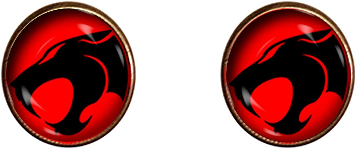 Chaoticfashion Thundercats Cuff Links 16mm 80's Cartoon Jewelry Gift Charm