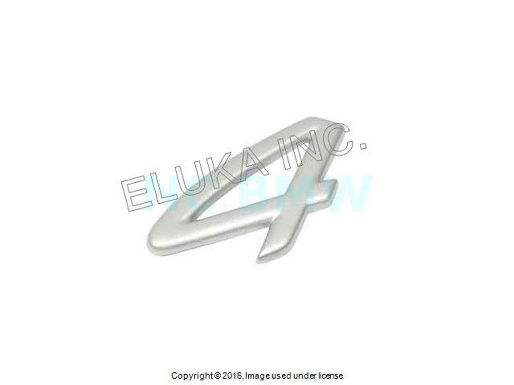 Amazon.com: Porsche Carrera Emblem 4 Decklid insignia GENUINE: Automotive
