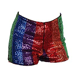 Multi Colour Sequins Shorts