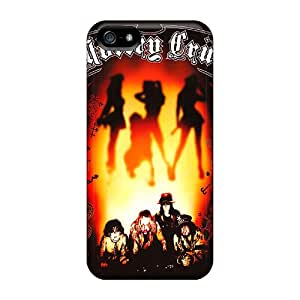 JasonPelletier Iphone 5/5s Durable Cell-phone Hard Covers Unique Design Attractive Motley Crue Series [Quk18712qUvd]