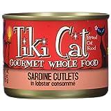 Tikicat Gourmet Whole Food 8-Pack Bora Bora Luau Sardine Cutlets in Lobster Consomm Pet Food