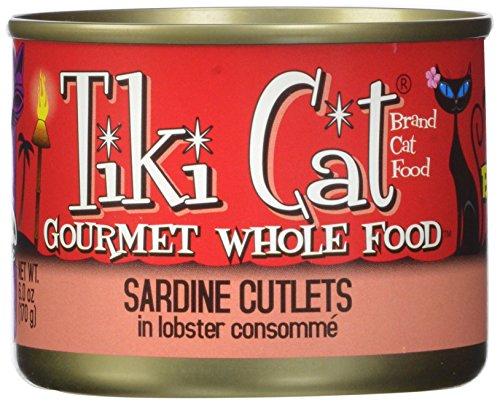 Tiki Cat Gourmet Whole Food 8-Pack Bora Bora Luau Sardine Cutlets In Lobster Consomme Pet Food