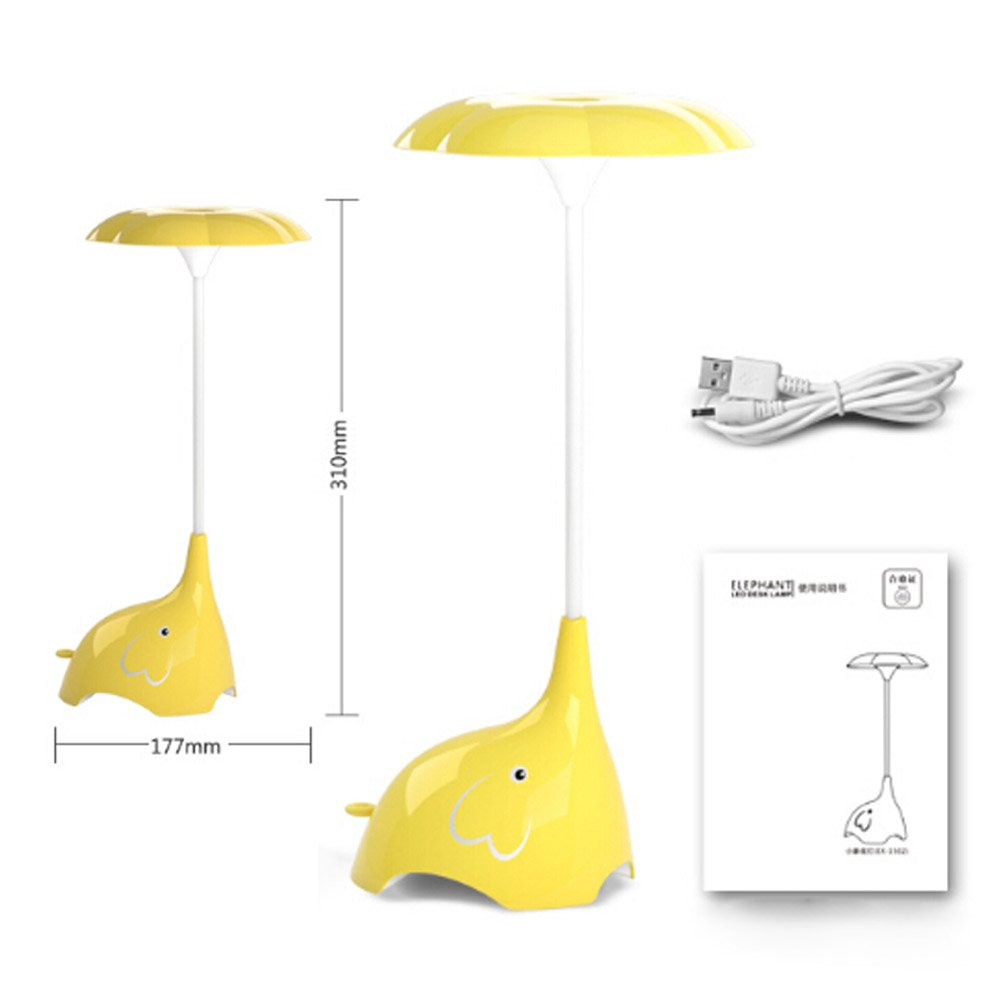 Amazon.com: WOMHOPE Cute Elephant Children\u0027s Night Lights Flexible ...