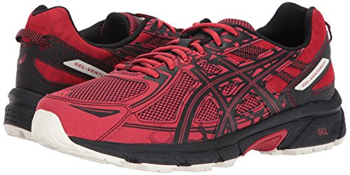 ASICS Mens Gel-Venture 6 Running Shoe, Lychee/Black/Whisper White, 11 D(M) US