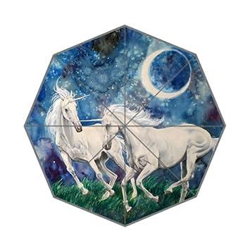 Flipped Summer Y Paraguas con Diseño de Unicornio y Estampado