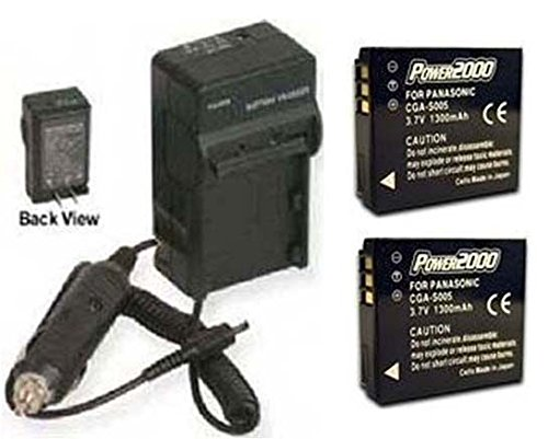 2 Batteries + Charger BP-DC4 BP-DC4-U BP-DC04-E for Leica C-LUX 1, Leica D-LUX 2 3 4 from photo High Quality