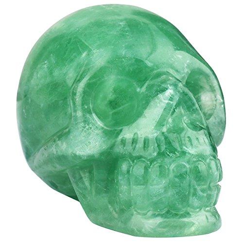 green fluorite crystal - 4
