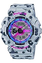 Casio BA-110FL-8AER - Women's Watch, Resin, Multicolor